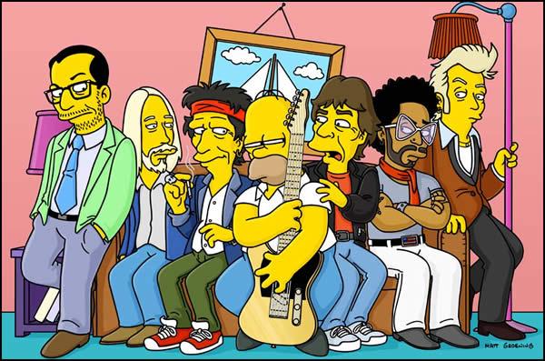 Homerova rock'n'rollová brnkačka