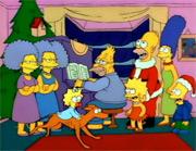 Prvá epizóda Vánoce u Simpsonových