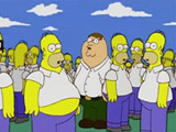Family Guy - Peter Griffin ako Homerov klon